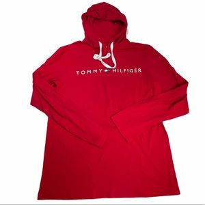 Oversized Medium Red Tommy Hilfiger Sweater